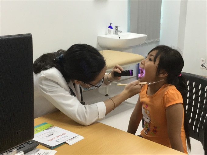 Free healthcare programme held for Intl Childrens Day