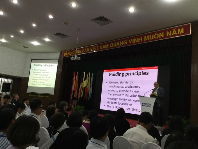 Good assessment helps improve English teaching: symposium