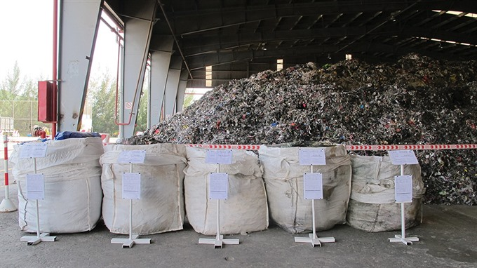 Co-processing solution for industrial waste