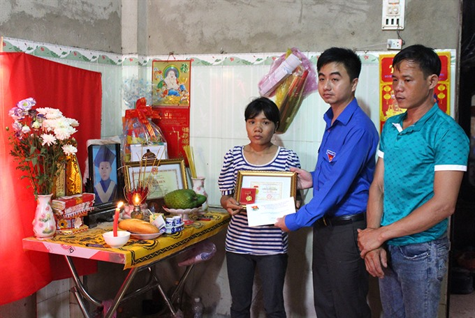 Youth union honours 10-year-old who drowned after saving four children