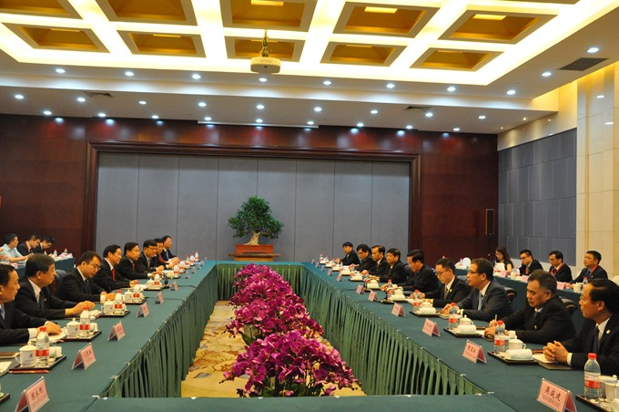 Vietnam China hold theoretical workshop