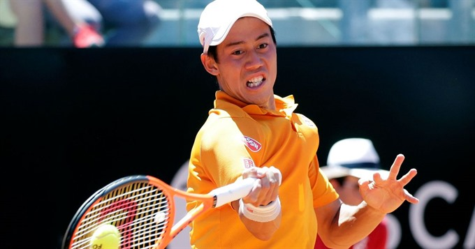 Nishikori saves three match points in Geneva