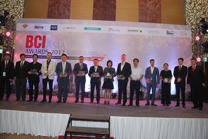 BCI awards given to Vietnamese