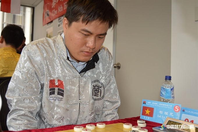 Huynh wins rapid event at Chinese Chess champs