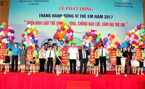 Action for chidren launched in Hà Nội