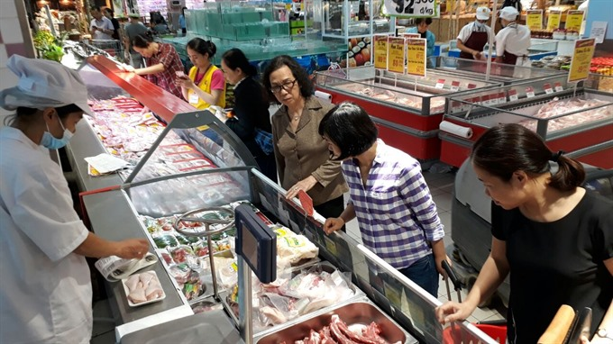Firms stop pork import buy local