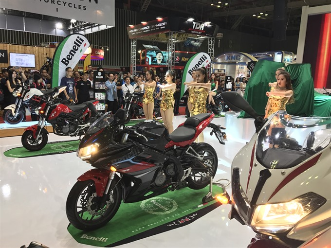 2017 Việt Nam Motorcycle Show opens in HCM City