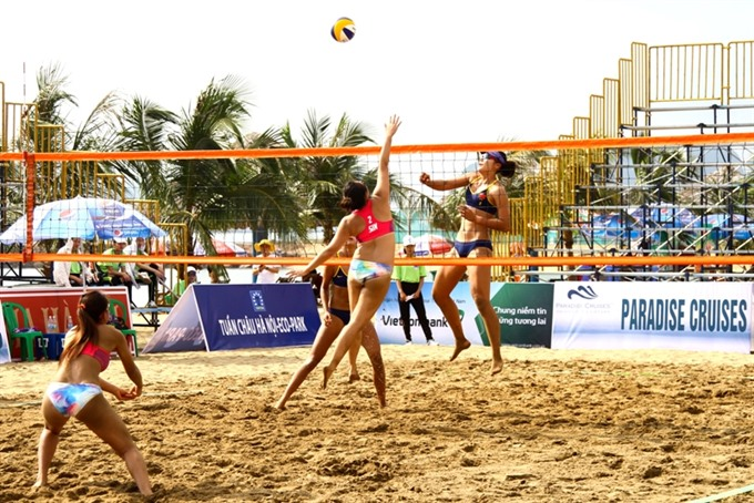 Asian womens beach volleyball event kicks off