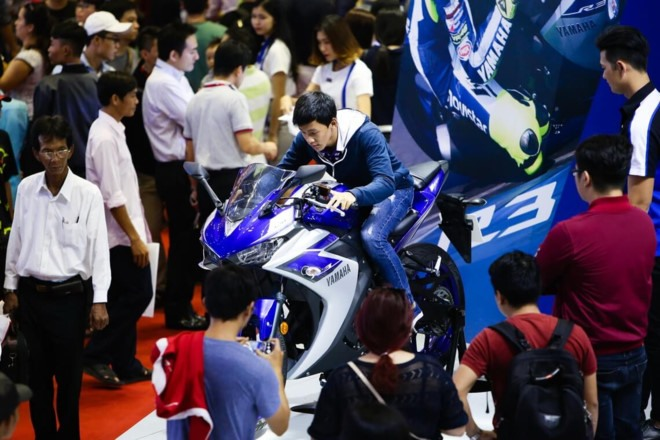 Việt Nam Motorcycle Show 2017 opens in HCM City