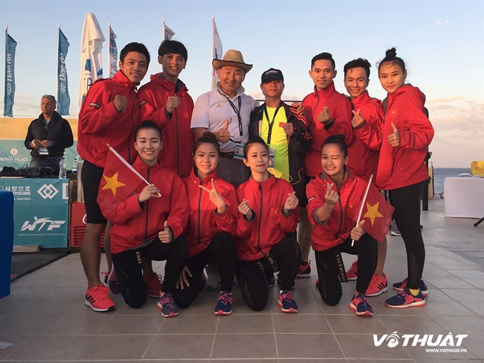 Việt Nam secure golds at Tae kwon do champ on beach