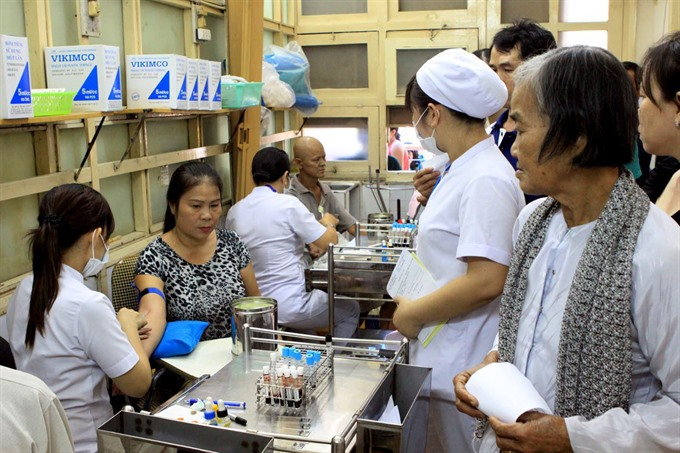 Non-infectious diseases kill 400000 Vietnamese per year