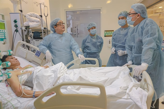 Private hospital performs liver transplant from living donor