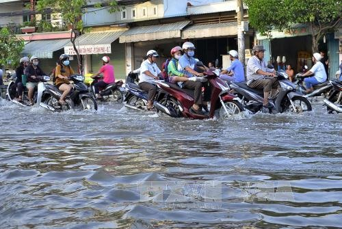 HCM City to start 22mil flood-prevention project