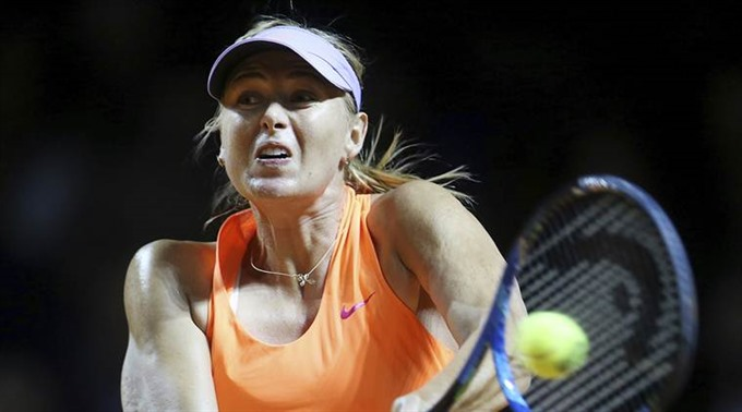 Sharapova sets up Bouchard grudge match