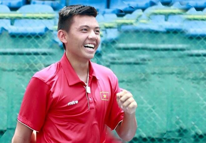 Nam placed second in Singapore tennis event