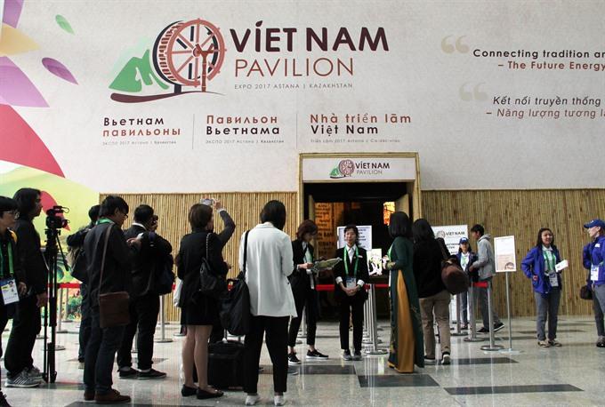 VN House at Expo 2017 Astana