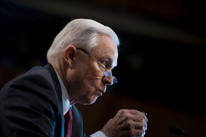 Jeff Sessions brands Russia collusion claims a detestable lie