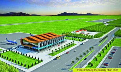 Authorities push Phan Thiết Airport construction