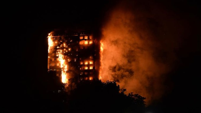 30 people taken to hospitals after massive fire at London high-rise