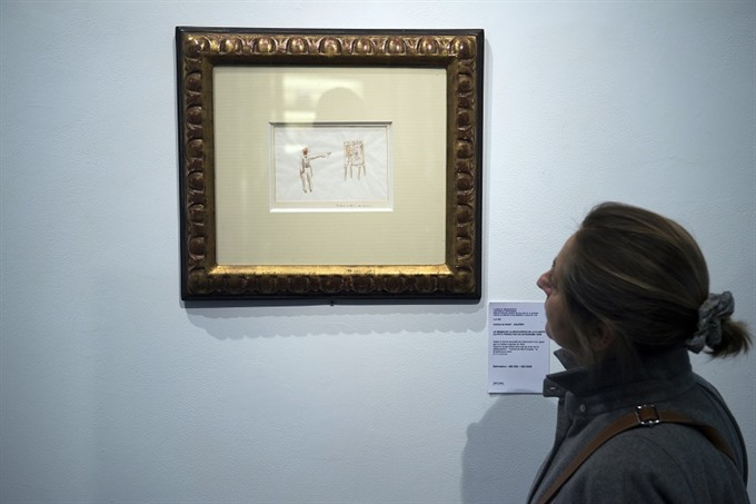 Little Prince watercolours top 500000 euros at auction