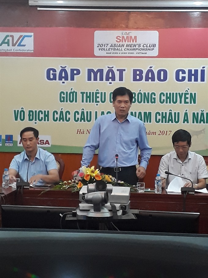 Volleyball clubs to vie for title in VN