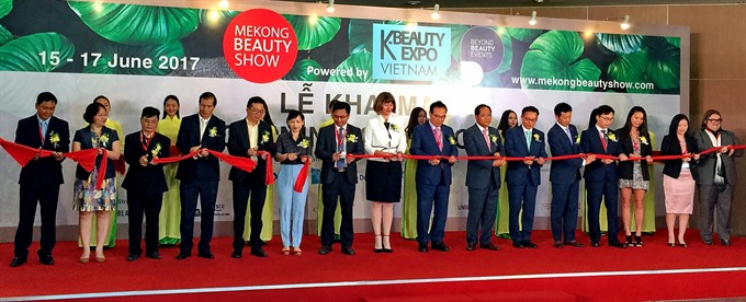 First Mekong Beauty Show opens in HCM City