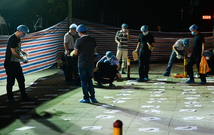 China kindergarten blast that killed eight a crime: investigators