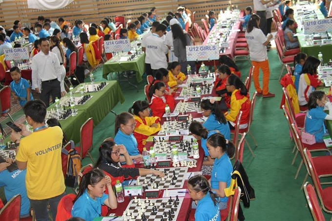 Vietnamese masters win golds in Eastern Asian youth chess champs