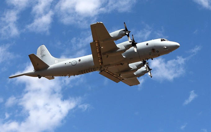 Australia sends spy planes to south Philippines