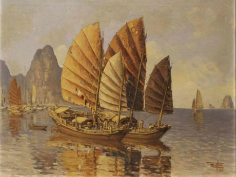 Hạ Long painting fetches US35000 in the capital