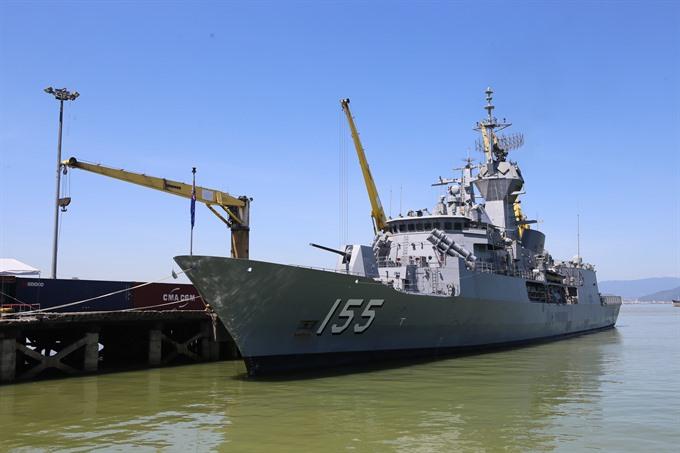 Australian Navy ship begins friendship visit in Đà Nẵng