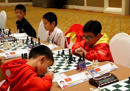 Phúc wins U8 world cadets rapid chess title