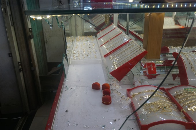 Two suspects of a jewelry robbery arrested