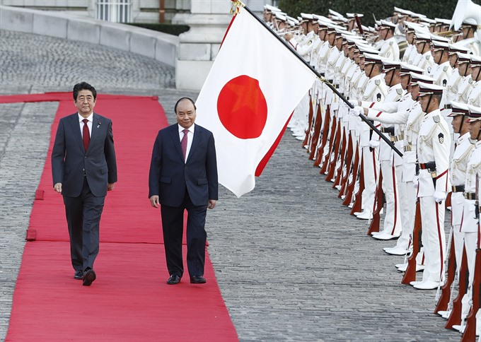 VN Japan PMs agree on future orientations