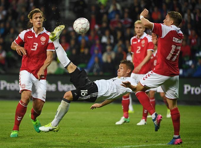 Kimmich bicycle kick earns equaliser for Germany B