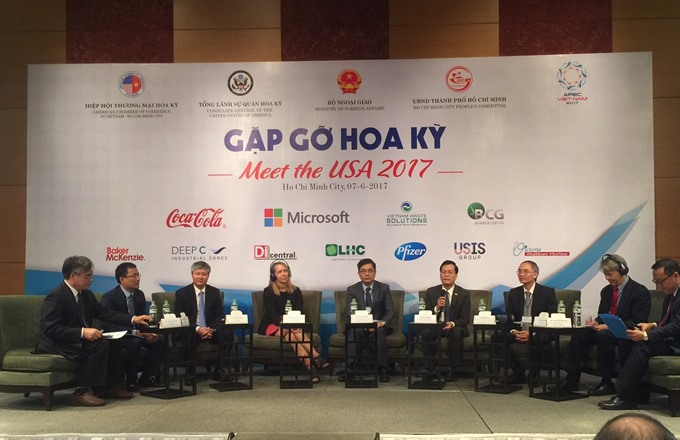 VN US entrepreneurs officials discuss trade