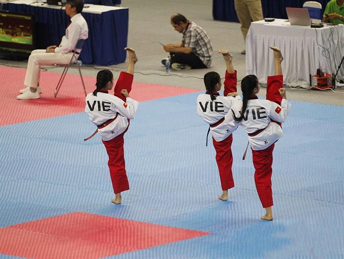 Việt Nam win Asian Taekwondo Poomsae Championship