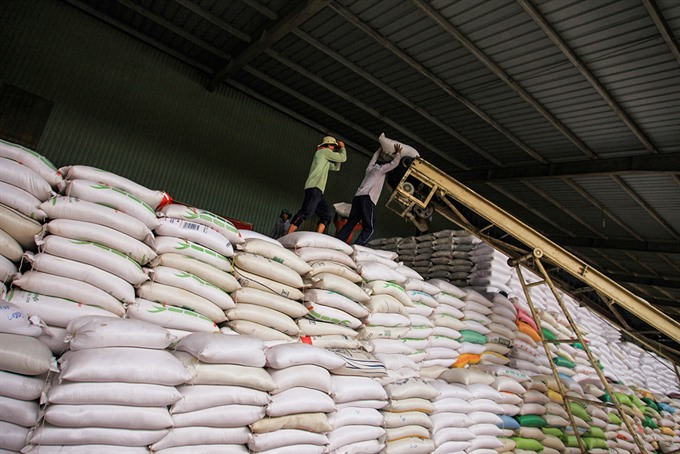 VN rice exports hit 3-year high