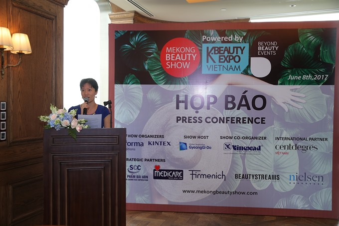 Mekong Beauty Show 2017 gathers 600 intl brands