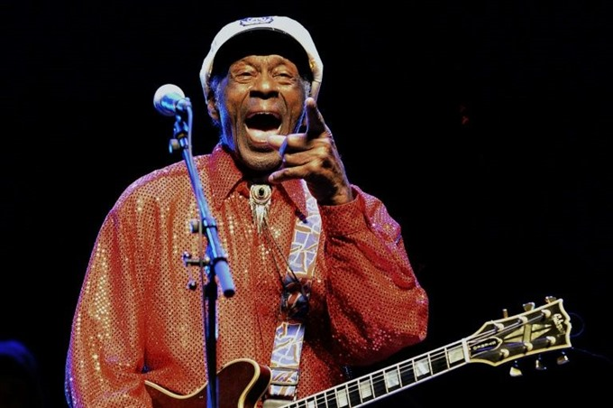Chuck Berry revisits youth in posthumous album