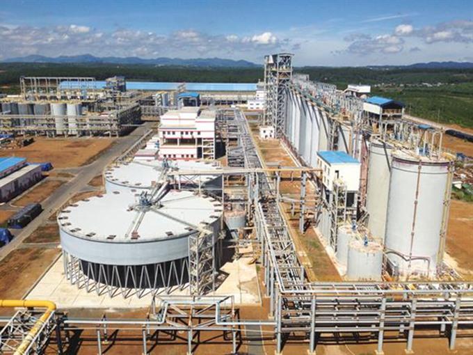 Lâm Đồngs Aluminum-Bauxite Complex sees profit