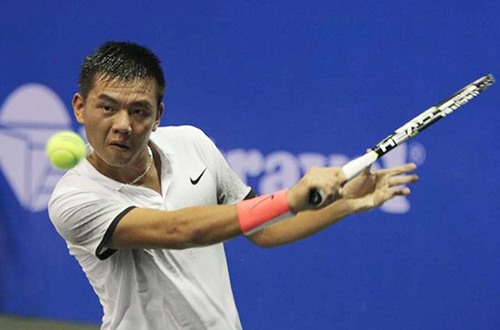 Nam into next round at China tennis event