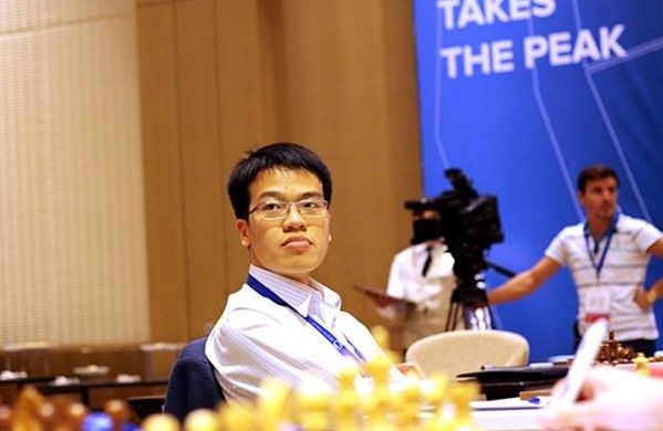 Liêm drops ranking after third draw at Super Grandmaster Tournament