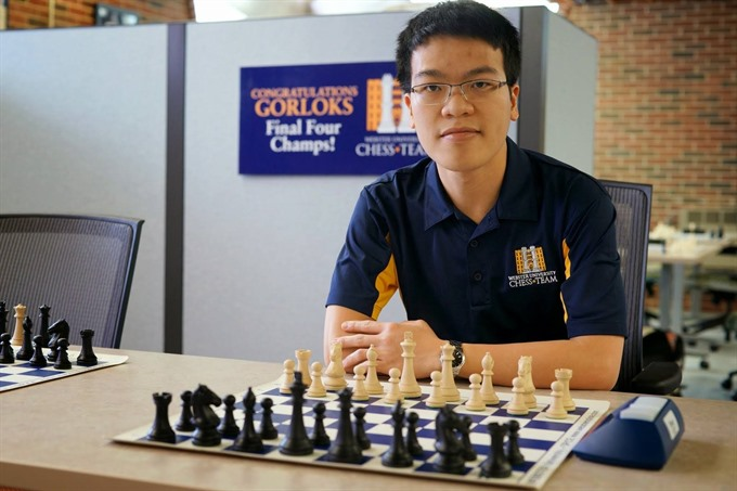 Liêm jumps to second spot in chess tournament