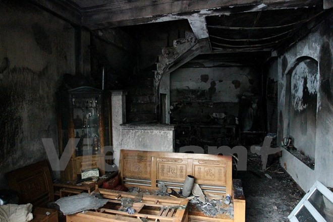 Four die in fire northwest of Hà Nội
