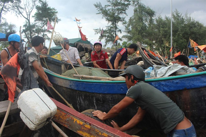 Coastal localities brace for Talas landfall