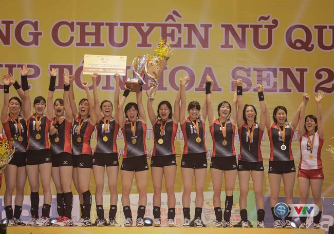 Japanese Students win VTV Cup