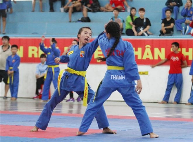 National students vovinam event opens