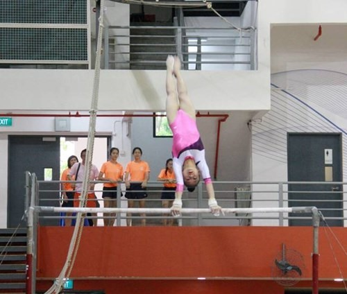 Vietnamese student-gymnasts win three golds at ASEAN Games