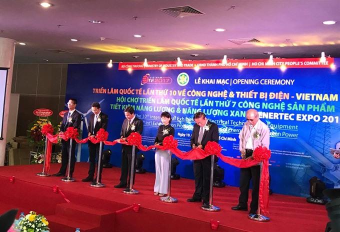 Energy-saving exhibition in HCMC